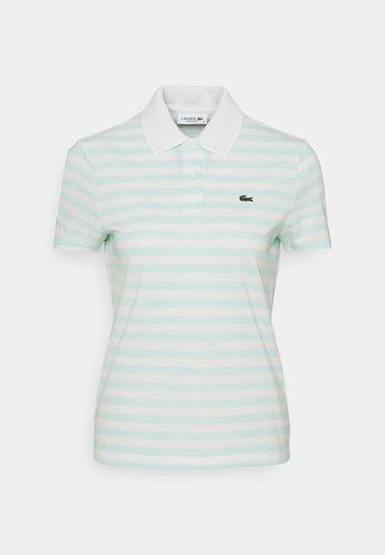 Polo shirt - mint/white
