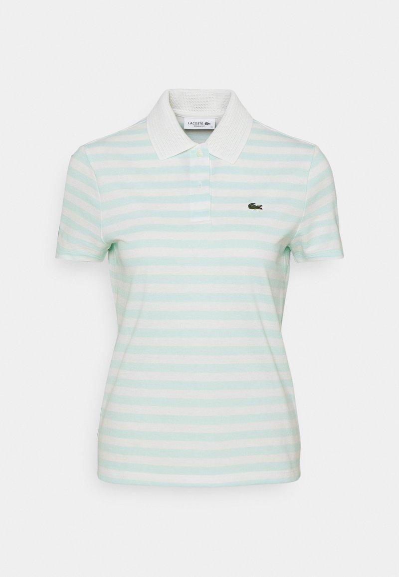 Lacoste - Poloshirt - mint/white