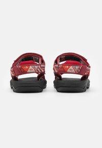 Teva - HURRICANE XLT 2 KIDS UNISEX - Walking sandals - chilli pepper - 2