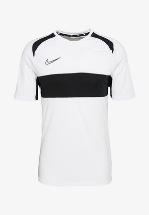 DRY ACADEMY  - Camiseta estampada - white/black