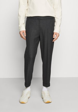 PILOU - Trousers - dark grey melange