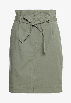 PAPERBAG SKIRT - Blyantnederdel / pencil skirts - douglas fir