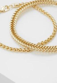Topman - CHAIN 2 PACK - Bracelet - gold-coloured - 4