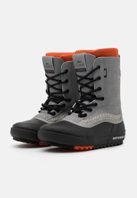Vans - STANDARD MTE UNISEX - Winter boots - gray/black - 1