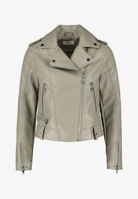 Next - Faux leather jacket - green - 1