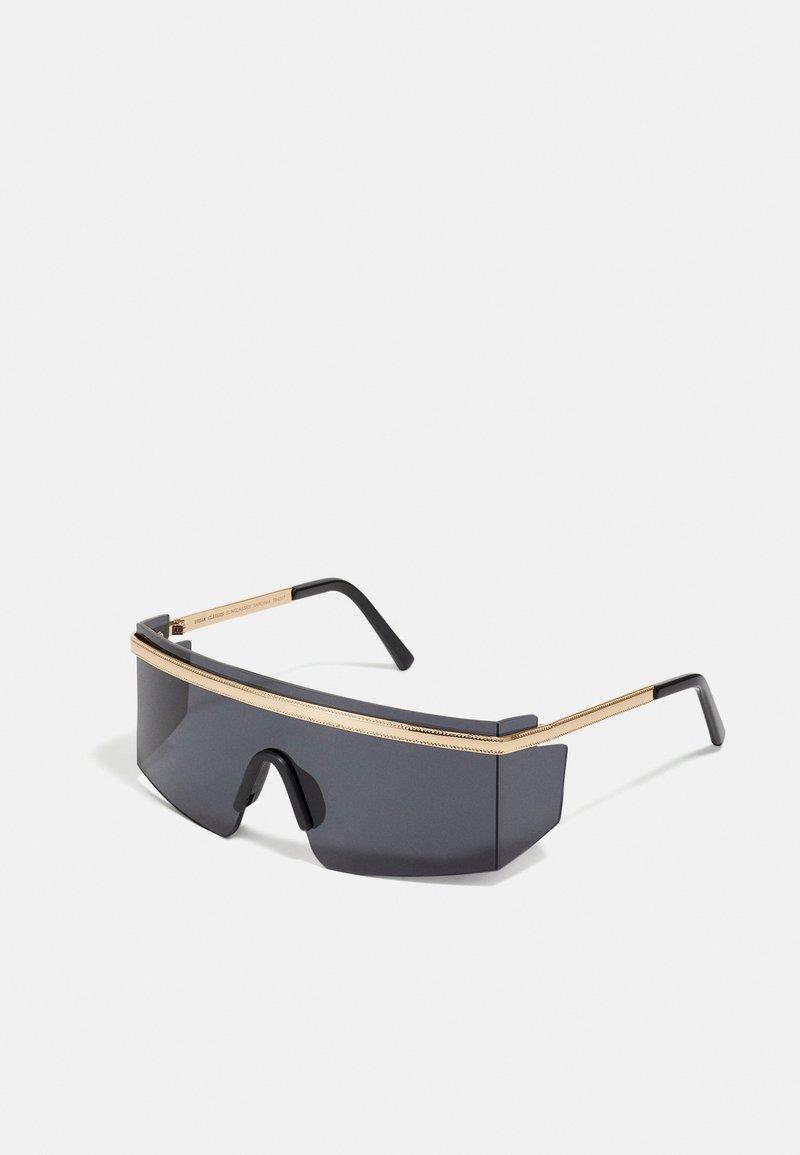 Urban Classics - SUNGLASSES SARDINIA - Sluneční brýle - black/gold-coloured