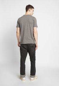 Dickies - V-NECK PACK 3 - Basic T-shirt - black/grey/white - 3