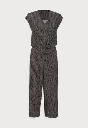 MONELI GEOMETRIC - Jumpsuit - black