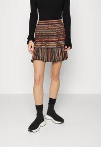 M Missoni - MINISKIRT - Mini skirt - carob - 0