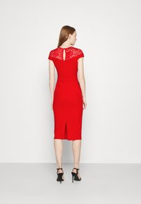 WAL G. - MADELINE MIDI DRESS - Shift dress - red - 2