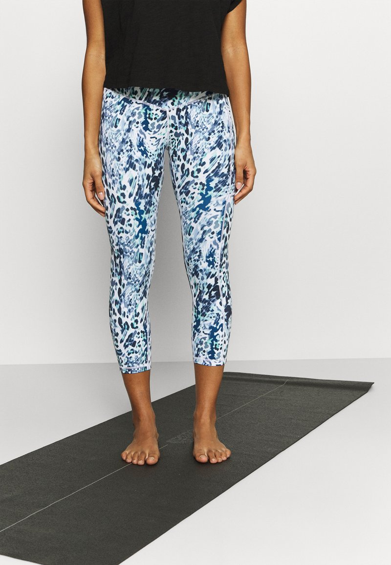 L'urv - TURN THE TIDE LEGGING - Leggings - blue