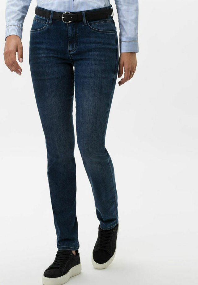 SHAKIRA - Jeans Skinny Fit - used water blue