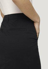 TOM TAILOR - Pencil skirt - deep black - 5