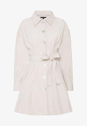THE A LINE DRESS - Shirt dress - off-white