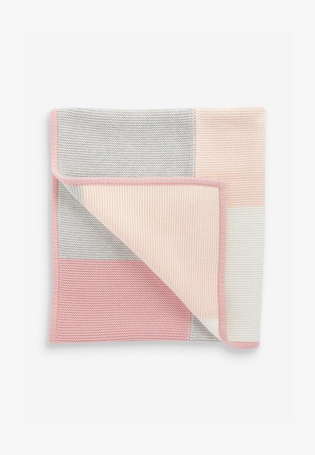PATCHWORK  - Babytæppe - pink