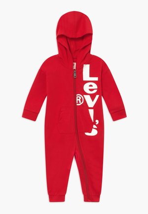 PLAY ALL DAY COVERALL - Tuta jumpsuit - super red