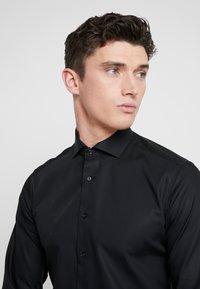 Eterna - SLIM FIT - Kostymskjorta - black - 3