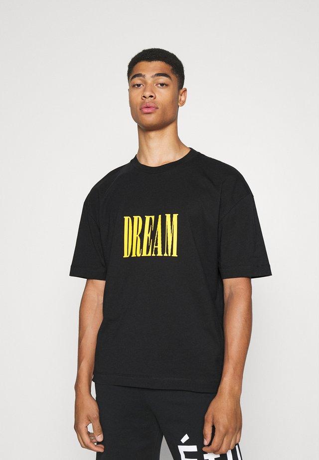 SPIRIT DREAM UNISEX - T-shirt med print - black