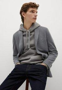 Mango - Blazer jacket - šedá - 3