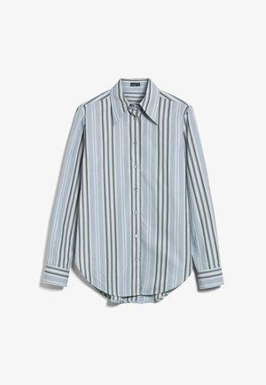 M-LUBI - Button-down blouse - grau
