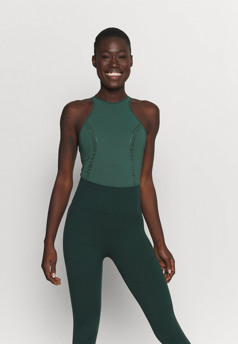 Nike Performance - YOGA BODYSUIT - Danspakje - pro green/vintage green