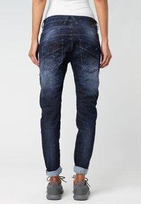Gang - RELAXED FIT NEW GEORGINA - Slim fit jeans - vivid dark vintage - 1