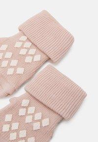 MP Denmark - LIMA ANTI SLIP 2 PACK - Socks - rose dust - 2
