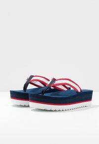 Tommy Jeans - RECYCLED MID BEACH SANDAL - Flip Flops - twilight navy - 4