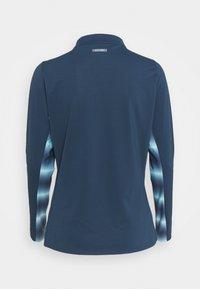 adidas Golf - HEAT RDY LONG SLEEVE MOCK - Long sleeved top - crew navy/hazy sky - 1