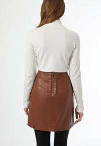 Dorothy Perkins - A-line skirt - brown - 2