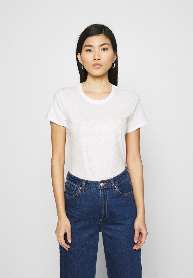 GAP - TEE - T-shirts med print - snow