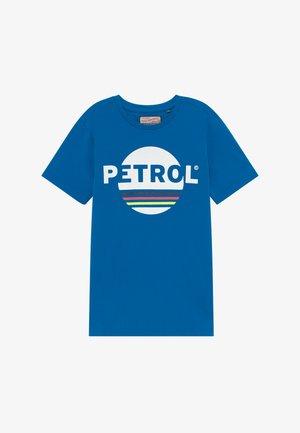 Print T-shirt - electric blue