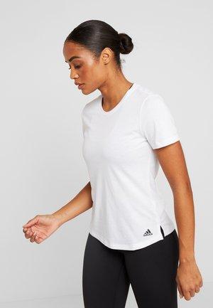 PRIME TEE - Sports shirt - white