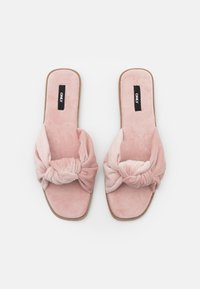 ONLY SHOES - ONLMIA BOW SLIPPER - Pantoffels - nude - 5