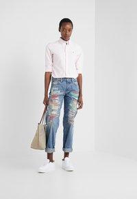 Polo Ralph Lauren - OXFORD KENDAL SLIM FIT - Button-down blouse - pink/white - 1