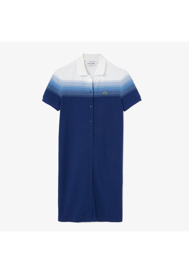Day dress - navy blau / blau / weiß