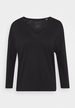 THREE QUARTER SLEEVE - Long sleeved top - dark blue