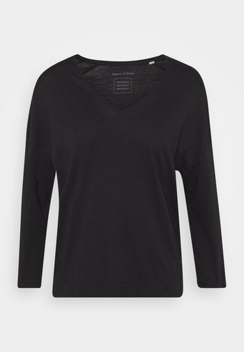 THREE QUARTER SLEEVE - T-shirt à manches longues - dark blue