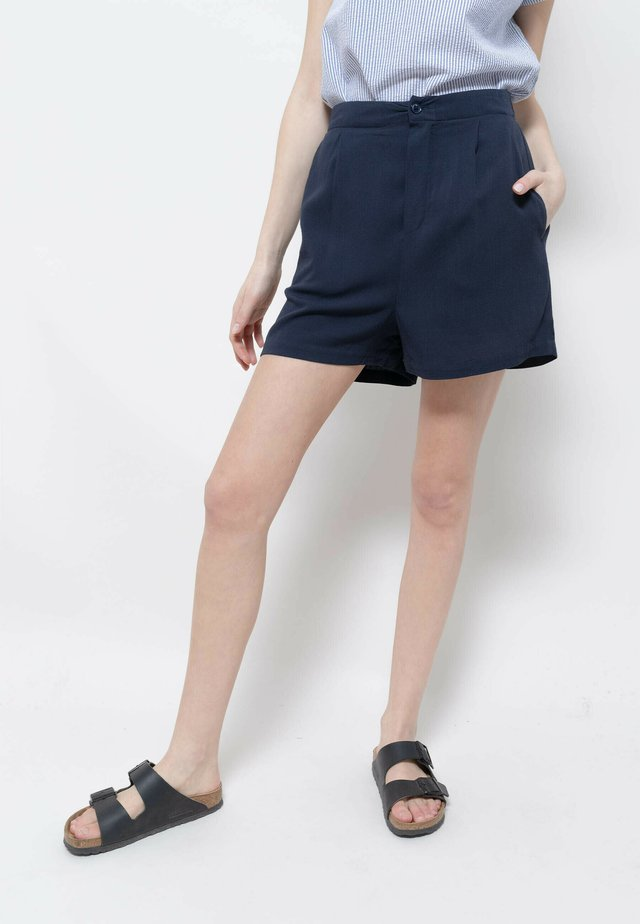 BOOM - Short - navy blue