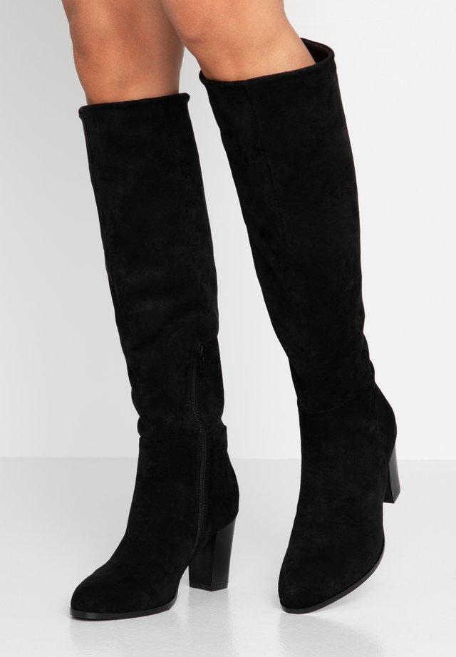 Overknee laarzen - noir