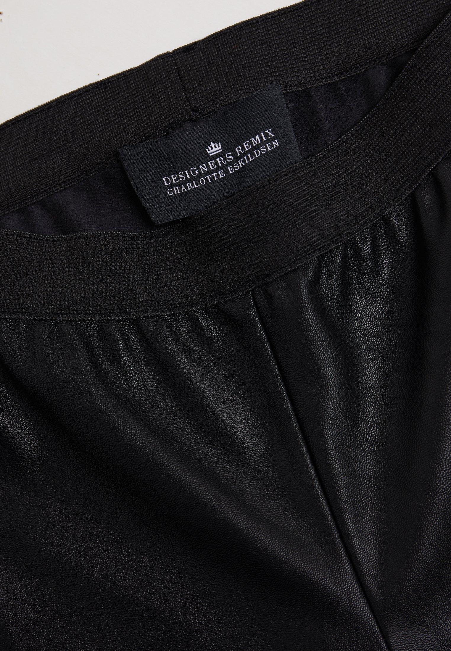 DESIGNERS REMIX VETTA PANTS - Pantalon classique - black