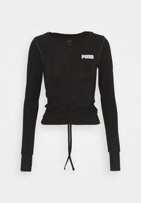 Puma - PAMELA REIF X PUMA COLLECTION RUSHING - Camiseta de deporte - puma black - 5
