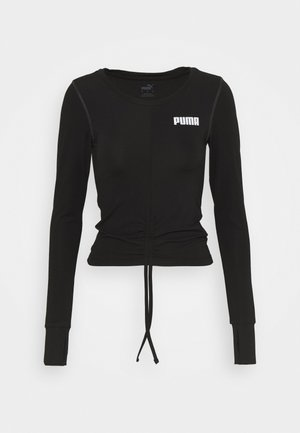PAMELA REIF X PUMA RUSHING - Sports shirt - puma black