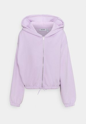 MIMI ZIP HODDIE - Zip-up hoodie - lilac