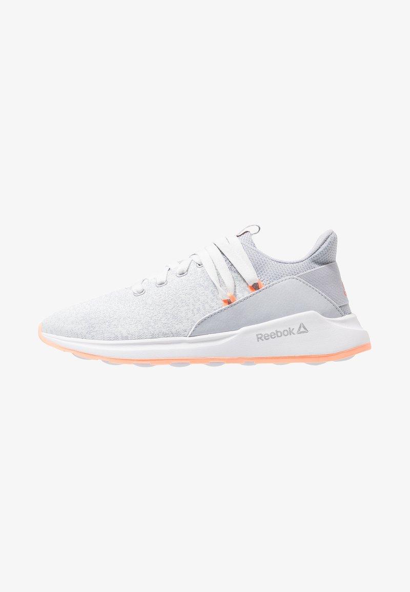 Reebok - EVER ROAD DMX 2.0 - Walking trainers - grey/white/sun glow