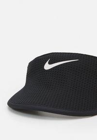 Nike Performance - AERO RUN VISOR - Cappellino - black - 3