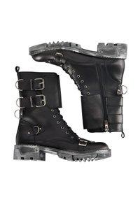 myMo ROCKS - Cowboy/biker ankle boot - schwarz - 0