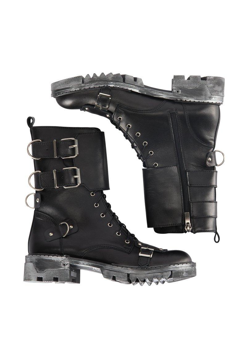 myMo ROCKS - Cowboy/biker ankle boot - schwarz