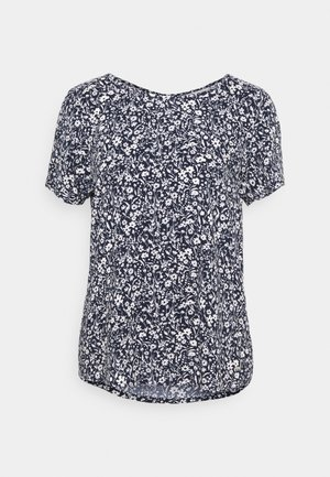 FEMININE WITH ZIPPER - Print T-shirt - blue