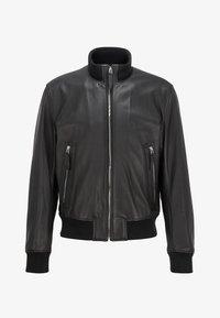 BOSS - NEOVEL - Leather jacket - black - 5